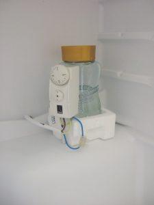 Corgi PCS dual pipe/cylinder thermostat with improvised heat sink